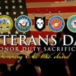 Giving Thanks To The Veterans